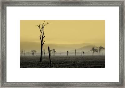 S P I R I T  Land Framed Print