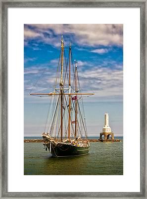 s/v Denis Sullivan Framed Print