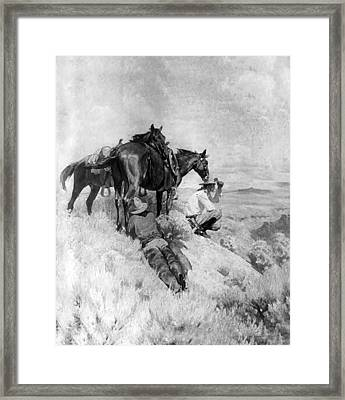 S Wrench Buckaroos Framed Print