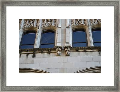 Sa Gargoyles  Framed Print by Shawn Marlow