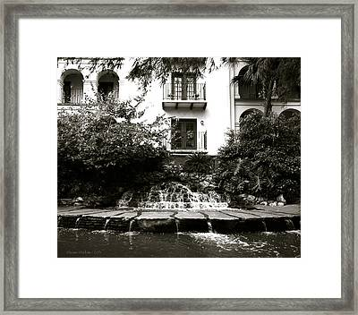 Sa River Walk 001-2013 Framed Print