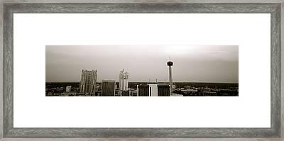 Sa Skyline 001 Framed Print