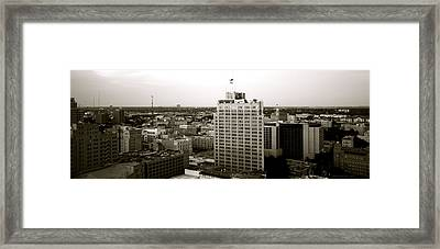 Sa Skyline 002 Framed Print