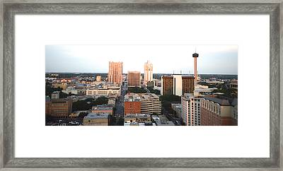 Sa Skyline 003 Framed Print
