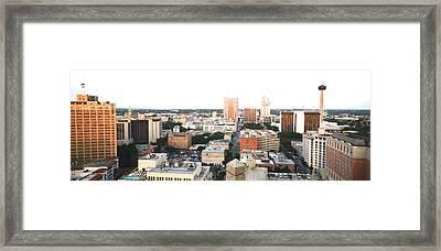 Sa Skyline 004 Framed Print