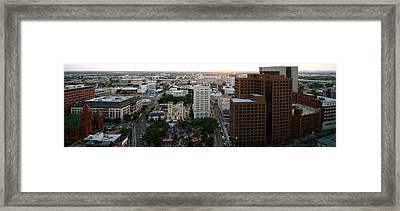 Sa Skyline 006 Framed Print