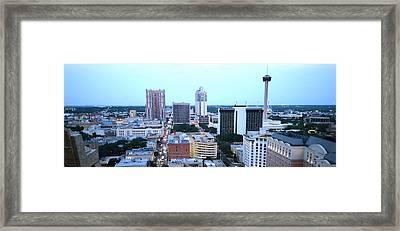 Sa Skyline 007  Framed Print