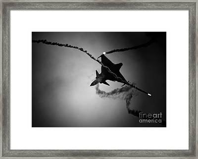 Saab Jas-39 Gripen Framed Print