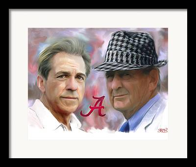 Roll Tide Framed Prints