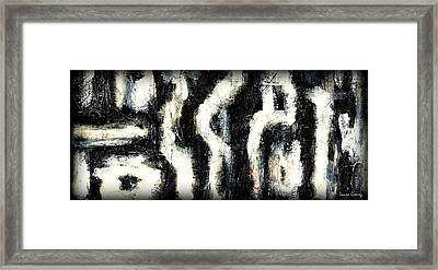Sabanah By Laura Gomez - Strip-long Size Framed Print by Laura  Gomez