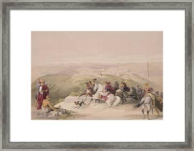Sabaste  Ancient Samaria Framed Print