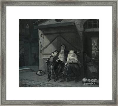 Sabbath Rest  Framed Print by Celestial Images