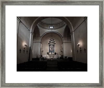 Sanctuary 3 -- Mission Concepcion Framed Print by Stephen Stookey
