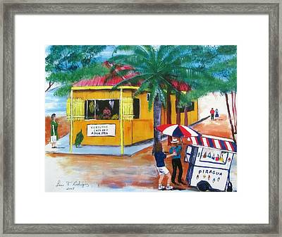 Sabor A Puerto Rico Framed Print by Luis F Rodriguez