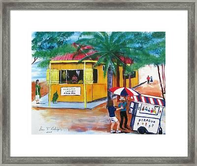 Sabor A Puerto Rico Framed Print