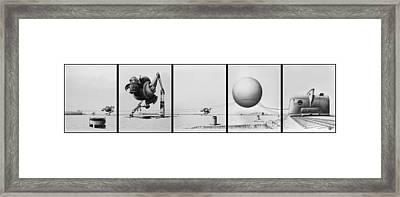 Saboteur Framed Print by Vincent Jimenez