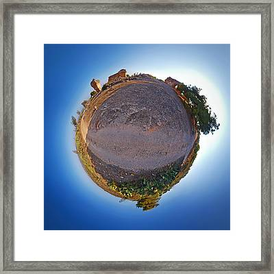 Framed Print featuring the photograph Sabra And Antiques by Meir Ezrachi