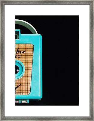 Sabre 620 Camera Framed Print by Jon Woodhams
