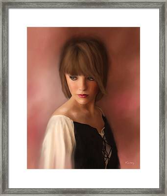 Sabrina Framed Print