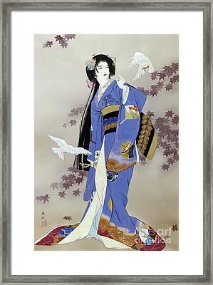 Sachi Framed Print by Haruyo Morita
