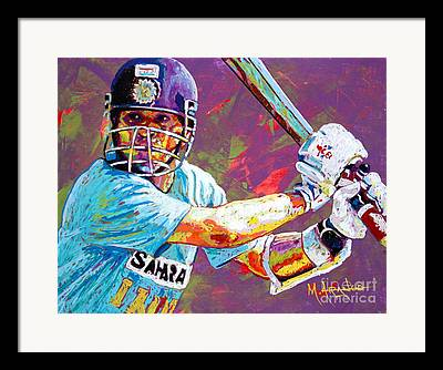 Cricketers Framed Prints