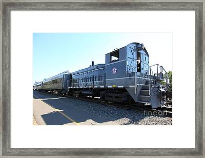 Sacramento Southern Railroad Locomotive 5d25487 Framed Print by Wingsdomain Art and Photography