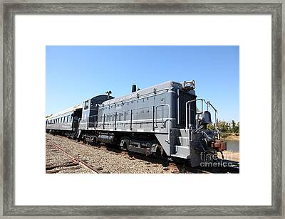 Sacramento Southern Railroad Locomotive 5d25520 Framed Print by Wingsdomain Art and Photography