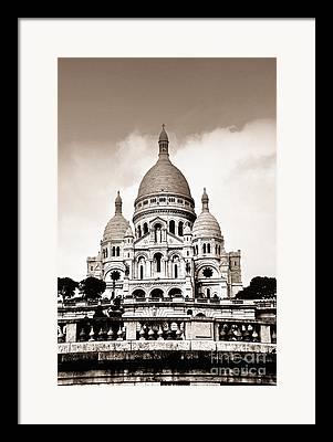 Basilique Framed Prints