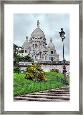 Sacre Coeur Cathedral Framed Print by Ioan Panaite