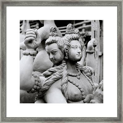 Sacred Calcutta Framed Print by Shaun Higson