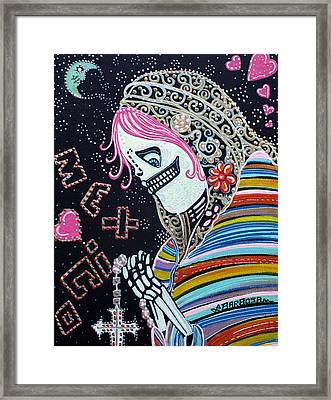 Sacred Day Framed Print by Laura Barbosa