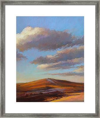 Sacred Dune Framed Print by Ed Chesnovitch
