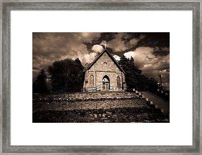 Sacred Heart Catholic Church Framed Print by Scott McGuire