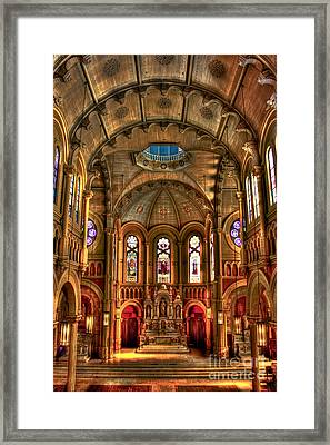 Sacred Heart Cultural Center Framed Print by Reid Callaway