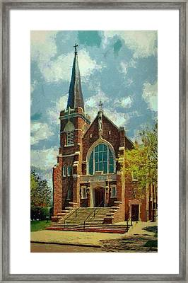 Sacred Heart Framed Print by Jeff Kolker
