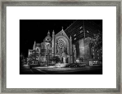 Sacred Heart Framed Print by Marvin Spates