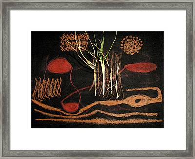 Sacred In A Different Way Framed Print by Patricia Januszkiewicz