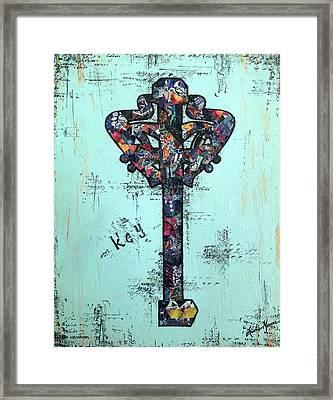 Sacred Key Framed Print
