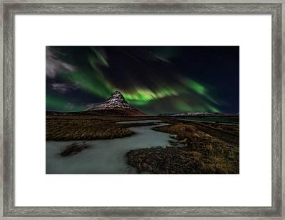 Sacred Kirkjufell Framed Print