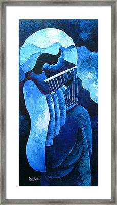 Sacred Melody Framed Print by Patricia Brintle