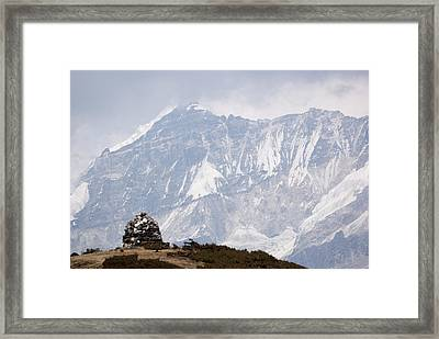 Sacred Mountain Framed Print by Helix Games Photography