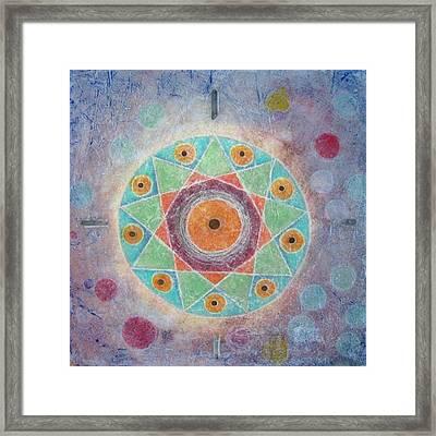 Sacred Nine Framed Print by Janelle Schneider