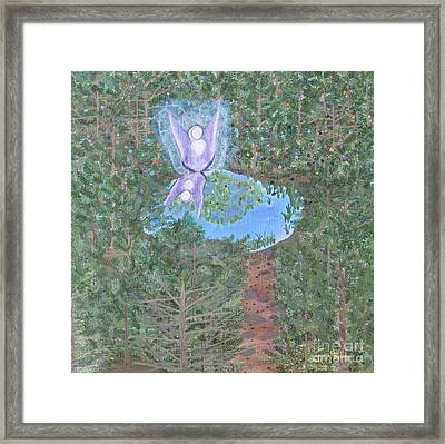 Sacred Oasis Framed Print by Cheryl Bailey