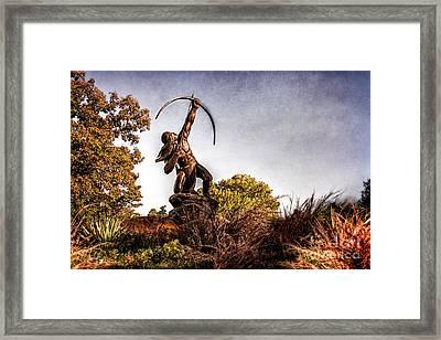 Sacred Rain Arrow Framed Print