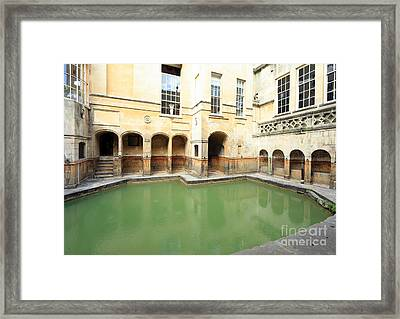 Sacred Roman Spring Framed Print by Paul Cowan