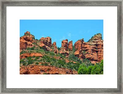 Sacred Sedona Framed Print