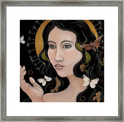 Framed Print featuring the painting Sacred by Sheri Howe