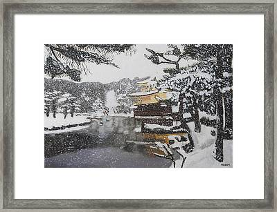 Sacred Snow Framed Print