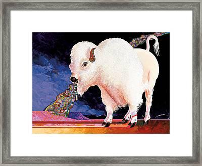 Sacred Spirit Framed Print by Bob Coonts