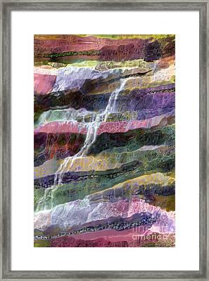 Sacred Spring Framed Print by Ursula Freer